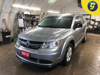 Used 2015 Dodge Journey SE * Uconnect 4.3 AM/FM/CD/MP3 * Air Conding w/Dual Zone Temp Cntrl * Cruise Control * Steering Wheel Controls * Push Button Start * Power Windows/ L for sale in Cambridge, ON