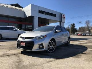 Used 2015 Toyota Corolla S for sale in North Bay, ON