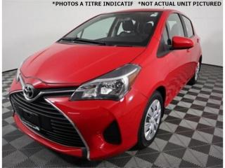 Used 2015 Toyota Yaris LE 1.5L *A/C *Gr.Electric *27 000 km !! for sale in St-Hubert, QC