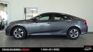 Used 2016 Honda Civic LX + CAMÉRA RECUL + BLUETOOTH ! for sale in Trois-Rivières, QC