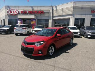 Used 2016 Toyota Corolla S **CAMERA RECUL, CUIR, SIEGE CHAUFFANT, MAG ** for sale in Mcmasterville, QC