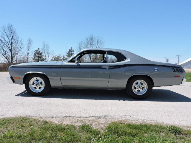 1973 Plymouth DUSTER 340 4 speed Numbers matching B.C car
