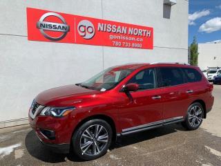 New 2020 Nissan Pathfinder Platinum 4dr 4WD Sport Utility for sale in Edmonton, AB