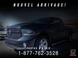 Used 2016 RAM 1500 SPORT + CUIR + NAVI + TOIT + WOW! for sale in St-Basile-le-Grand, QC