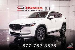 Used 2017 Mazda CX-5 GT + AWD + NAVI + CUIR + TOIT + WOW! for sale in St-Basile-le-Grand, QC