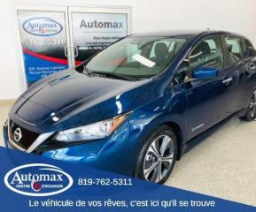 Used 2019 Nissan Leaf SV *PRIX INCLUT REMISE GOUVERNEMENTALE for sale in Rouyn-Noranda, QC