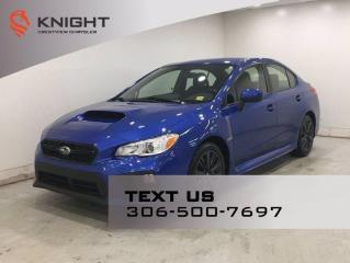 Used 2018 Subaru WRX Manual for sale in Regina, SK