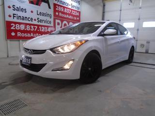 Used 2015 Hyundai Elantra 4dr Sdn Auto GLS LOW KM 1OWNER SUNROOF ALLOY B-TOO for sale in Oakville, ON