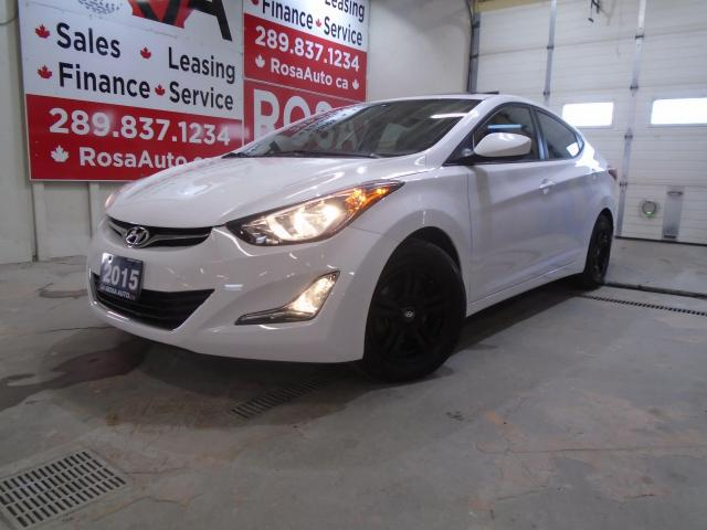 2015 Hyundai Elantra 4dr Sdn Auto GLS LOW KM 1OWNER SUNROOF ALLOY B-TOO