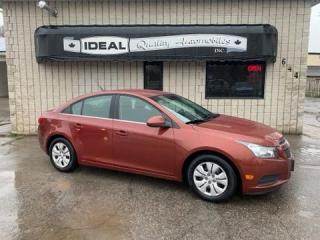 Used 2012 Chevrolet Cruze LT Turbo w/1SA for sale in Mount Brydges, ON