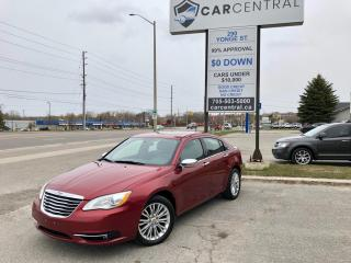 Used 2013 Chrysler 200 Limited   LEATHER   SUNROOF   HEATED SEATS   for sale in Barrie, ON
