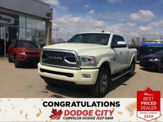 Used 2018 RAM 3500 Limited for sale in Saskatoon, SK
