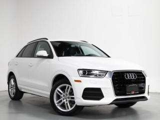 Used 2016 Audi Q3 FRONT TRAK I PANO I 1-OWNER I LOCAL VEHICLE for sale in Vaughan, ON