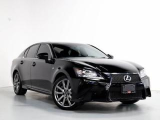 Used 2014 Lexus GS 350 350   F-SPORT   NAVI   SUNROOF   CAMERA for sale in Vaughan, ON