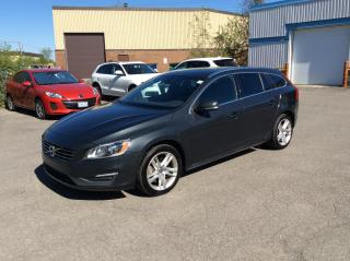 Used 2015 Volvo V60 2015.5 4dr Wgn T5 Premier AWD for sale in Ottawa, ON