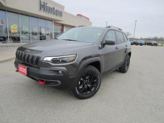 New 2020 Jeep Cherokee Trailhawk Elite for sale in Perth, ON