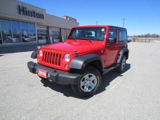 Used 2016 Jeep Wrangler SPORT for sale in Perth, ON
