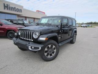New 2020 Jeep Wrangler Unlimited Sahara for sale in Perth, ON