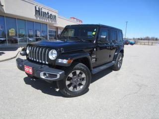 Used 2018 Jeep Wrangler Unlimited Sahara for sale in Perth, ON