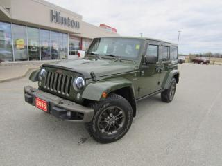 Used 2016 Jeep Wrangler Unlimited Sahara for sale in Perth, ON