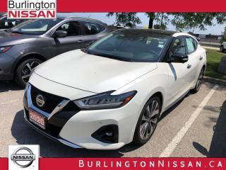 New 2020 Nissan Maxima Platinum Sedan for sale in Burlington, ON