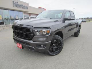 New 2020 RAM 1500 Big Horn Night Edition for sale in Perth, ON