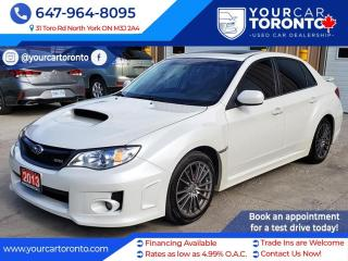 Used 2013 Subaru WRX 4DR SDN for sale in North York, ON