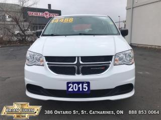 Used 2015 Dodge Grand Caravan CANADA VALUE PACK for sale in St Catharines, ON