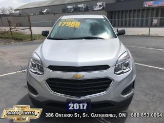Used 2017 Chevrolet Equinox LS  - Low Mileage for sale in St Catharines, ON