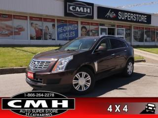 Used 2016 Cadillac SRX Luxury  AWD NAV PANO P/GATE/SEATS CAM for sale in St. Catharines, ON