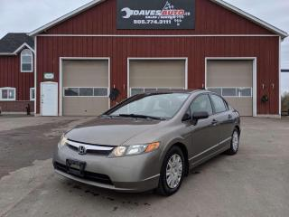 Used 2008 Honda Civic DX Sedan 5 speed. AC. Power Windows. for sale in Dunnville, ON