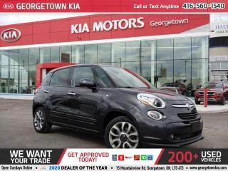 Used 2014 Fiat 500 L SPORT HEATED SEATS| ALLOY WHEELS| 5 DOOR| LOW KMS for sale in Georgetown, ON