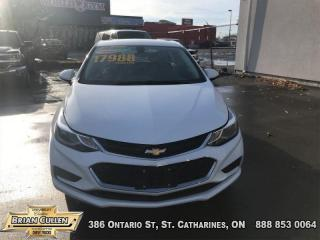 Used 2018 Chevrolet Cruze LT  - Certified for sale in St Catharines, ON