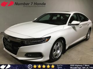 Used 2018 Honda Accord Sport| Auto-Start| Backup Cam| Sunroof| for sale in Woodbridge, ON