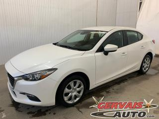 Used 2018 Mazda MAZDA3 GX GPS Caméra de recul A/C Bluetooth for sale in Trois-Rivières, QC