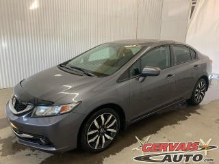 Used 2015 Honda Civic Touring GPS Cuir Toit Ouvrant Caméra Mags for sale in Trois-Rivières, QC