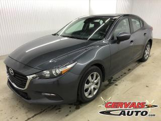 Used 2018 Mazda MAZDA3 GX GPS CAMÉRA DE RECUL BLUETOOTH for sale in Shawinigan, QC