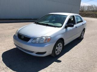 Used 2008 Toyota Corolla Berline 4 portes, boîte manuelle, CE for sale in Quebec, QC