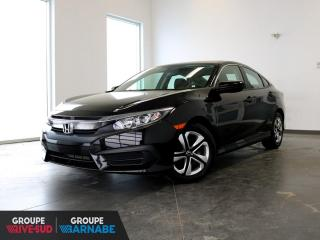 Used 2018 Honda Civic LX CLIMATISEUR+CAMERA+SIEGE CHAUFFANT+++ for sale in St-Jean-Sur-Richelieu, QC