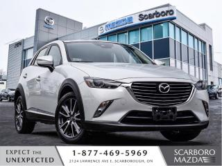 Used 2018 Mazda CX-3 1.5%@FINANCE|CPO|GT|NEW BRAKES ALL AROUND for sale in Scarborough, ON