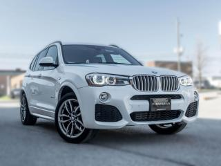Used 2016 BMW X3 xDrive28i I M SPORT I NAV I PANO ROOF I HEADS UP for sale in Toronto, ON