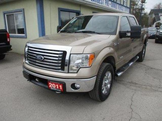 2011 Ford F-150 GREAT VALUE XLT EDITION 5 PASSENGER 3.5L - ECO-BOOST.. 4X4.. CREW-CAB.. SHORTY.. TRAILER BRAKE.. SYNC TECHNOLOGY.. BLUETOOTH SYSTEM..