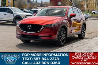 Used 2018 Mazda CX-5 GT LEATHER/NAV/ROOF/HTS SEATS/HTD WSTEERING WHEEL/ for sale in Okotoks, AB