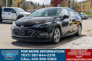 Used 2016 Chevrolet Cruze Premier Auto RS/LEATHER/ROOF/HTD SEATS/HTD WHEEL/NAV for sale in Okotoks, AB