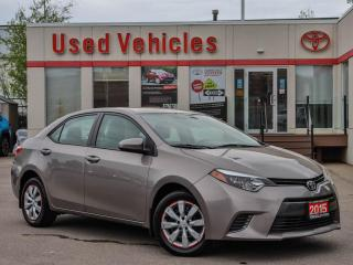 Used 2015 Toyota Corolla 4dr Sdn CVT LE for sale in North York, ON