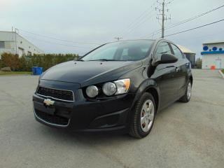 Used 2012 Chevrolet Sonic *******AUTOMATIQUE*****BAS KILOMÉTRAGE** for sale in St-Eustache, QC