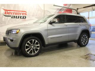 Used 2018 Jeep Grand Cherokee LIMITED ENSEMBLE LUXE 4X4 for sale in Lévis, QC
