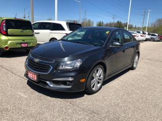 Used 2015 Chevrolet Cruze 1LT GREAT FIRST CAR! for sale in Cambridge, ON