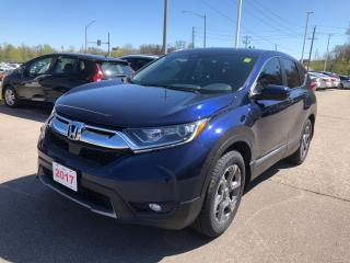 Used 2017 Honda CR-V EX REMOTE ENGINE STARTER | POWER SUNROOF | APPLE CARPLAY™  & ANDROID AUTO™ CONNECTIVITY for sale in Cambridge, ON