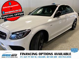 Used 2016 Mercedes-Benz C-Class AMG C450 AWD  FULLY LOADED .. for sale in Calgary, AB